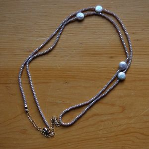 Jewelry - Blush Pink Beaded Necklace